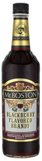 Mr. Boston Blackberry Brandy 750ml - Case of 12